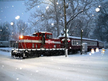 Polar Bear Express Train - Middletown & Hummelstown Railroad
