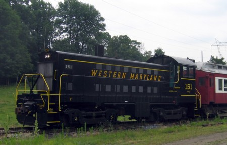 Alco Restored to Original Colors