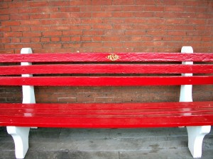 M&H Railroad Station bench