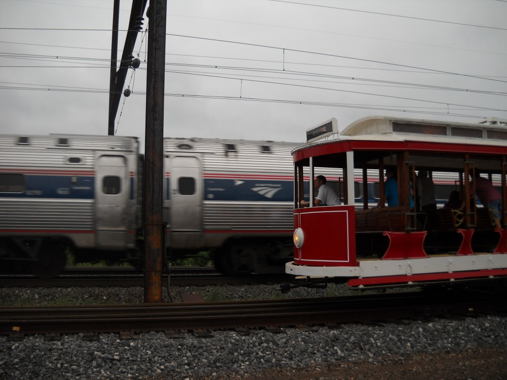 Amtrak & trolley