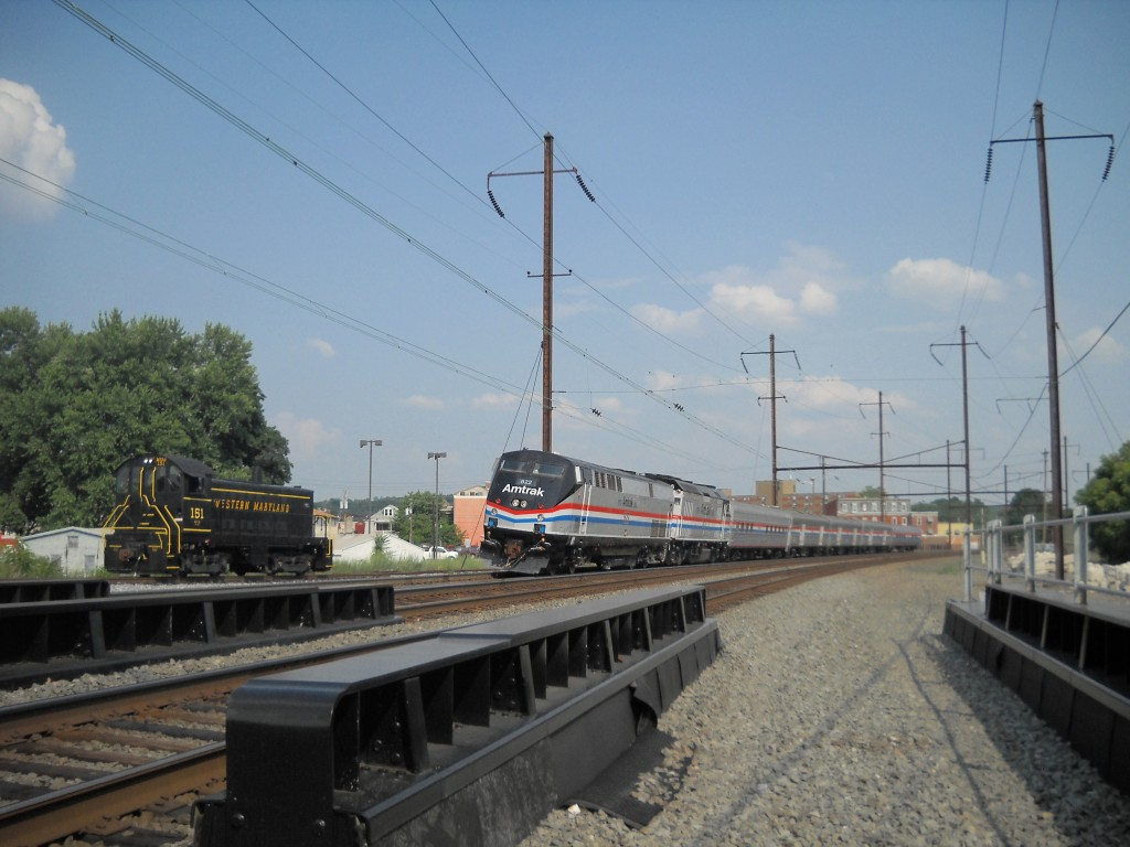 amtrak & alco S6